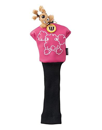 Ladies Golf Headcover - MU Sports Ladies Golf Fairway Wood Headcover, 703U1513 (Pink)