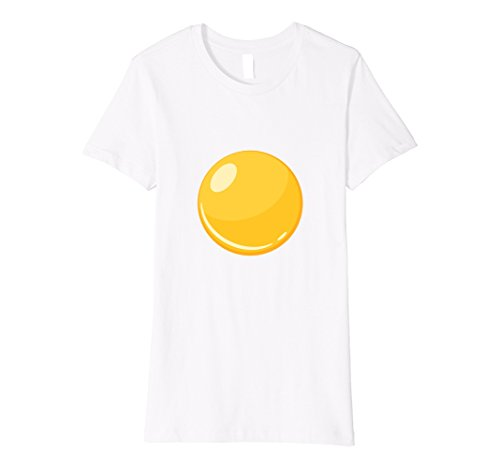 Halloween Costume Ideas For Two Best Friends (Womens Egg - Bacon & Egg Matching Halloween Costume Shirt XL White)
