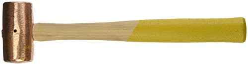 Armstrong 69-485 2-Pound Copper Hammer Hickory Handle by Apex Tool Group