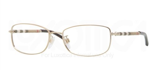 Eyeglasses Burberry 0BE1221 1145 BURBERRY GOLD (Burberry Sonnenbrillen Damen)