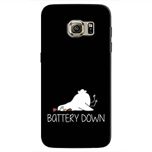 Cover It Up - Battery Down Galaxy S7 Hard Case