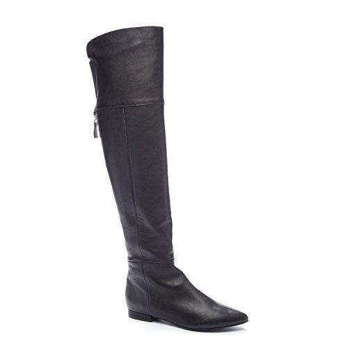 Chinese Laundry Kristin Cavallari Women's York Riding Boot, Black Leather, 8 M US