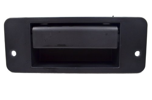 PT Auto Warehouse FO-3523A-T2 - Tailgate Back Door Handle, Textured Black - Excursion Tailgate
