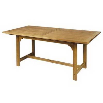 Ploß Outdoor furniture Auszugstisch, Nashville, natur, 120x180x75 cm, 0,5038 ml, 1043490
