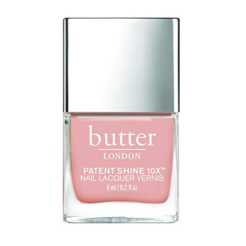 butter LONDON Frisky Business Patent Shine 10x Mini Nail Lacquer, 0.2 Fl. Oz. (Best Butter London Nail Polish)