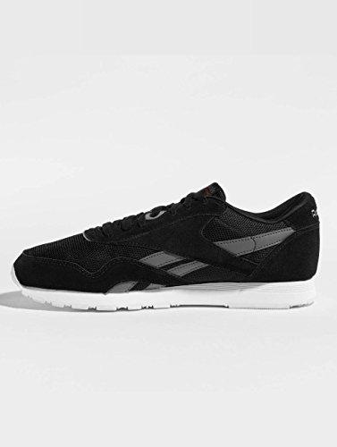 Reebok CL Nylon OM Sneakers Black-Grey-White Black buy cheap many kinds of fnslV