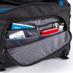 Organization pocket of the Case Logic DSM-103 Large DSLR + iPad Messenger Bag