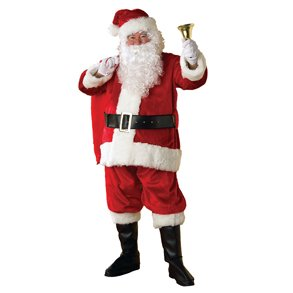 Regency Plush Santa Suit - X-Large (Santa Regency Suit)