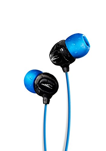 Waterproof Headphones for swimming – SURGE S+ (Short Cord). Best Waterproof Headphones for Swimming Laps