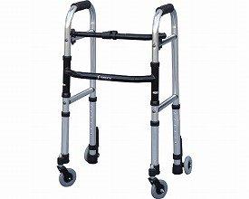 【歩行器】ミニフレームウォーカーキャスターモデル ◆Sサイズ [WFM-4262SW3GW] B00H7Y1Q1Y