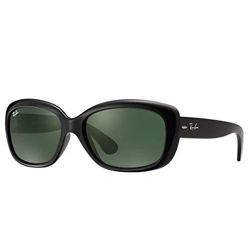 Ray-Ban Women's Jackie Ohh Sunglasses,58mm,Black/Green (Ray Bans Jackie Ohh)