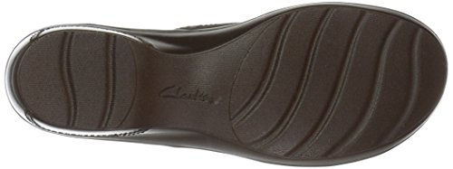 Clarks Women's Marion Helen Loafer Dark Brown Leather ASTT26