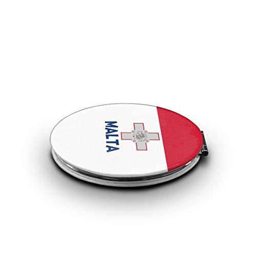 Originality Malta Flag Makeup MirrorMini Pocket Mirror -
