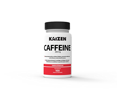 Kaizen Caffeine 100 Count 200mg - Packaging May Vary