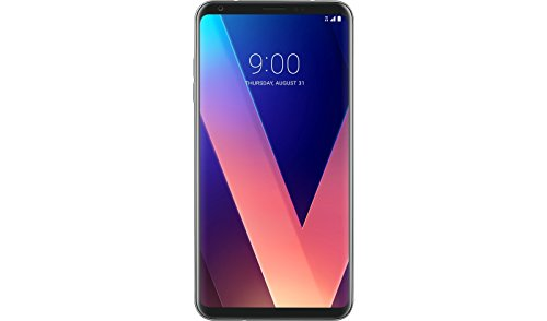 LG V30 - H932-64GB Dual Camera 4G LTE - Silver - T-Mobile (Renewed)