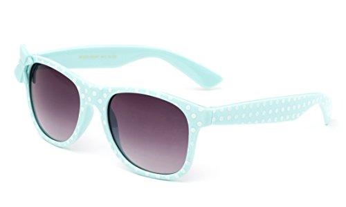 Newbee Fashion - Kids Polka Dot Cute Bow Fashion Sunglasses for Kids Lead - Bow Sunglasses