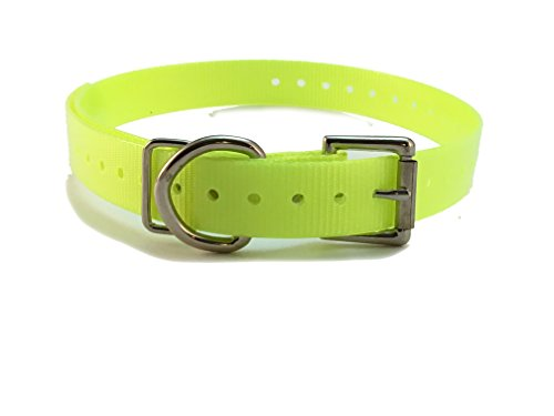 sparky-petco-1-replacement-dog-collars-for-garmin-delta-sportdog-petsafe-bark-limiter-devices-neon-y