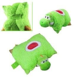 Super Mario Bros Yoshi Transforming Pet Pillow Nap Sleep ...