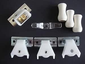 100 x ROMAN BLIND CORD RINGS 15mm Regency Cord Sew In Fabric Curtain Tape Reel
