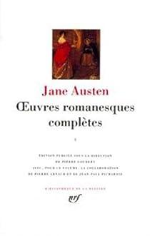 La Pléiade - Oeuvres romanesques complètes, tome 1 par Austen