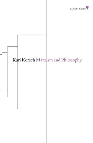 Marxism and Philosophy (Radical Thinkers)
