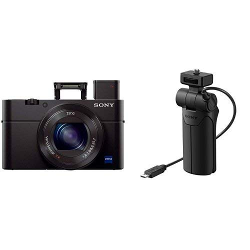 Sony Cyber-shot DSC-RX100 III Digital Still Camera & OLED Finder, Flip...