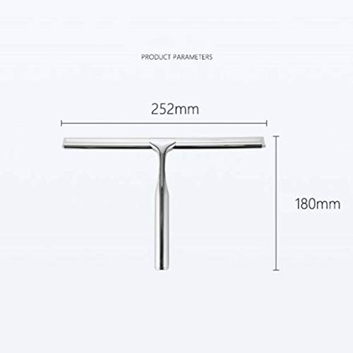 Squeegees, Replaceable Blade, Squeegees for Showers, Professional Stainless Steel Window Glass Mirror Cleaner, Also Great for Bathroom, Floor, Wall and Mirrors. by JCERY (Image #6)