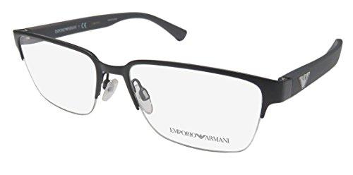 Armani EA1055 Eyeglass Frames 3165-55 - Matte Grey - Co Emporio &
