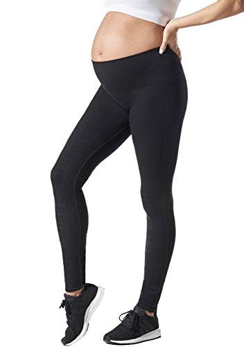 - BLANQI SportSupport Hipster Cuffed Leggings (Medium, Black)
