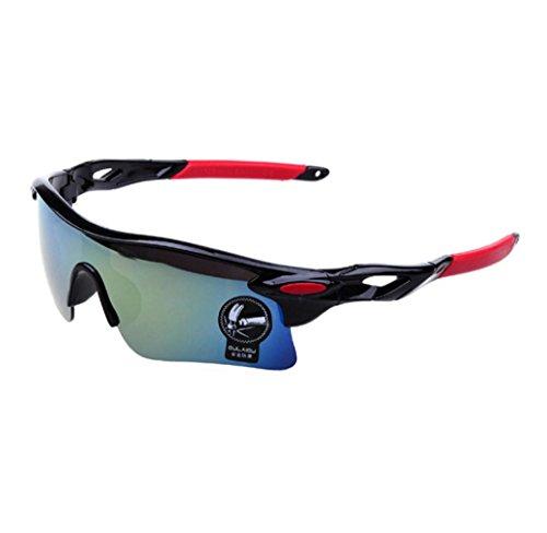 Sunglasses, Cucme Men Women Square Vintage Mirrored Sunglasses Eyewear Outdoor Sports Glasses - For Sunglasses Men K