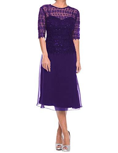 Mother of Bride Dresses Short Evening Dresses Lace Formal Dresses Regency 12