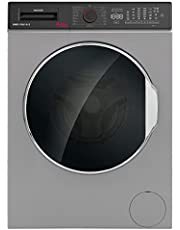 Hoover Washer Dryer 8/6 KG, Fully Automatic Front Loading Combo Washing Machine, 8 KG wash & 6 KG dry, 1400 RPM, Made in Turkey, Silver, HWD-V8614-S