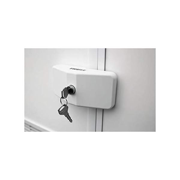 Thule 25218 Door Lock weiß für Wohnmobil und Reisemobil