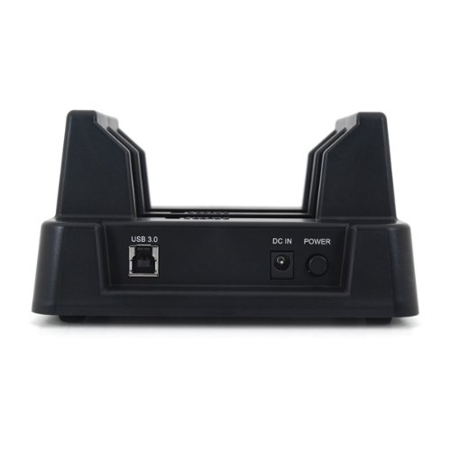 Cavalry Retriever Series EN-CAHDD2BU3C-ZB 2.5in and 3.5in Standalone SATA Hard Drive Duplicator and USB 3.0 Dual-Bay Dock - Black