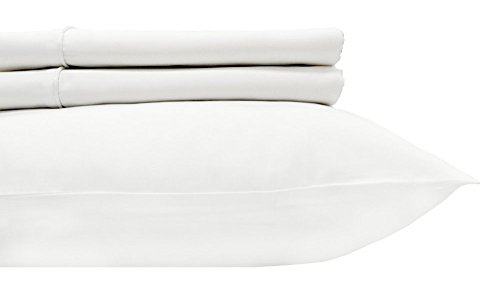 600 Pillow (Royal's Solid White 600-Thread-Count 2pc / Pair Standard / Queen Size 20