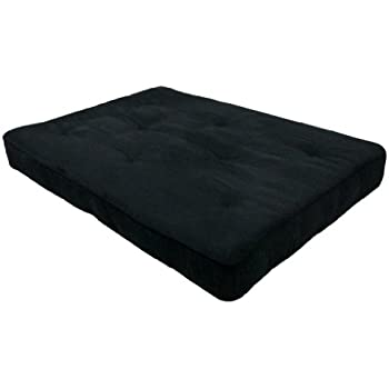 This Item DHP 8 Inch Independently Encased Coil Premium Futon Mattress,  Full Size, Black