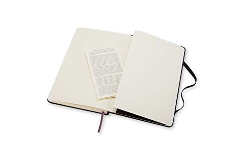 "Moleskine Classic Notebook, Hard Cover, Pocket (3.5"" x 5.5"") Ruled/Lined, Black"