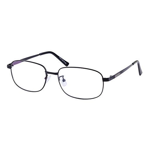 Southern Seas -0.50 Distance Glasses Myopia Black Frame Full Rim Mens Womens Stylish Spectacles - Rim Full