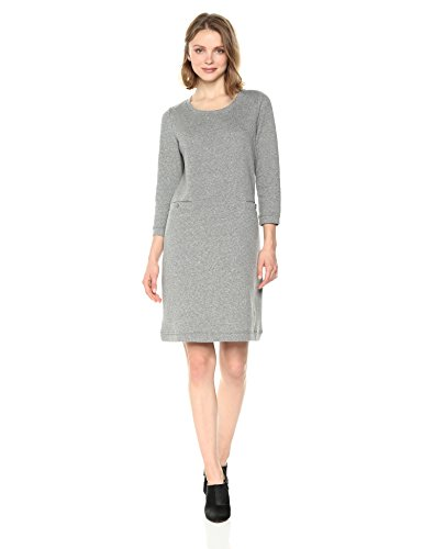 West Damen Nine Heather Kleid Charcoal qASCwzxn