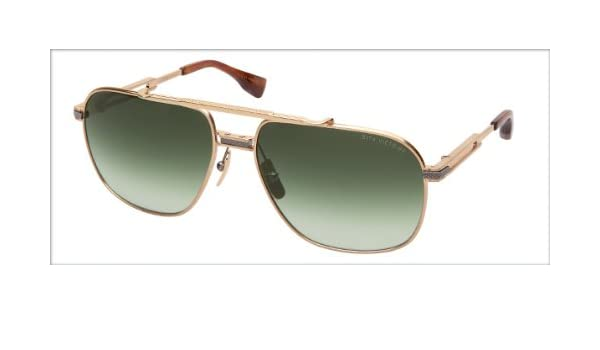 68e7143a198 Amazon.com  Dita Victoire DRX-2049D Titanium Sunglasses 14Kt Gold 60mm   Clothing