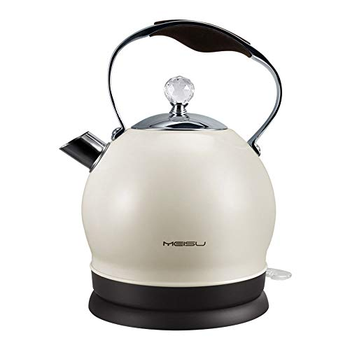 Small Electric Kettle, Electric Kettle Temperature Control,Household 2L Capacity Automatic Power Off Stainless Steel Chassis Heating Electric Kettle