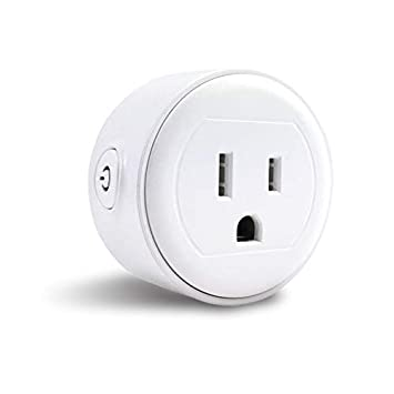 GoldenDot WiFi Mini Plug, Smart Home Power Control Socket, Wireless Control Your Household Appliance from Anywhere, No Hub Required, Compatible with Alexa and Google Home