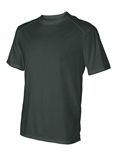 Badger Adult Comfortable Short Sleeve Performance T-Shirt, Forest Green, - Badger Sleeve Short T-shirt