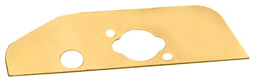 Milodon 32500 Gold Zinc Plated Rear Baffle Oil Pan for Small Block Chevy by Milodon
