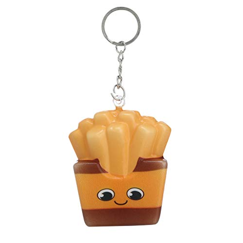 2019 New, Kawaii Adorable French fries Chips Toy,have Slow Rising Cream Scented Stress Relief Toys Toys Party Favors,as toys for giving vent to your emotion. (D)