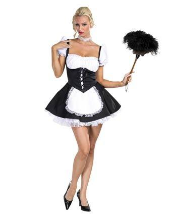 Chambermaid Adult Costume Size 10-12 Medium (Chambermaid Costume)