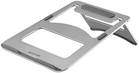 Promate Aluminium Laptop Stand, Universal Heat Dissipation