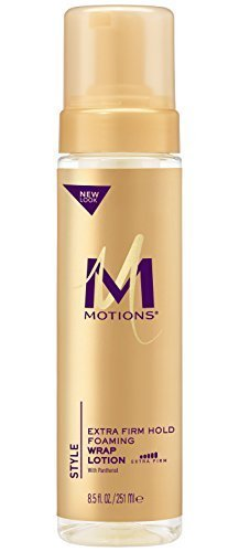 Motions Foaming Wrap Lotion (Motions Salon Haircare Extra Firm Hold Foaming Wrap Lotion, 8.5 Ounce by Motions)