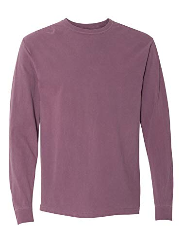 Comfort Colors Ringspun Garment-Dyed Long-Sleeve T-Shirt (C6014)- BERRY, L from Comfort Colors