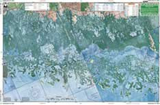 Waterproof Charts, Large Print, 40E Everglades City - To Directions Bend North